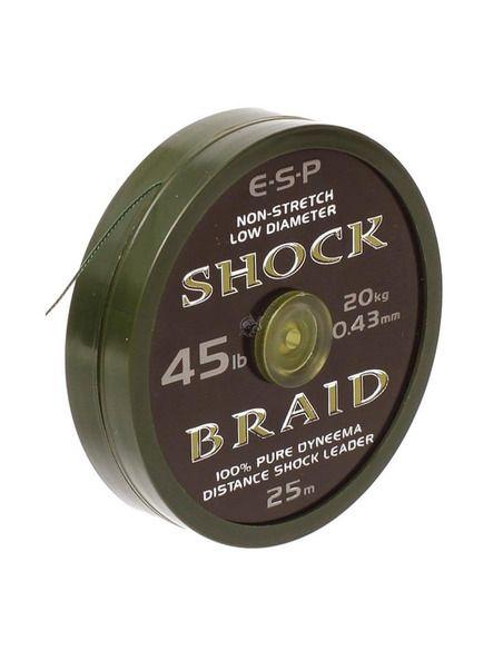 Шоклидер ESP - Shock Braid - E.S.P. - Плетени влакна за поводи и монтажи - 1