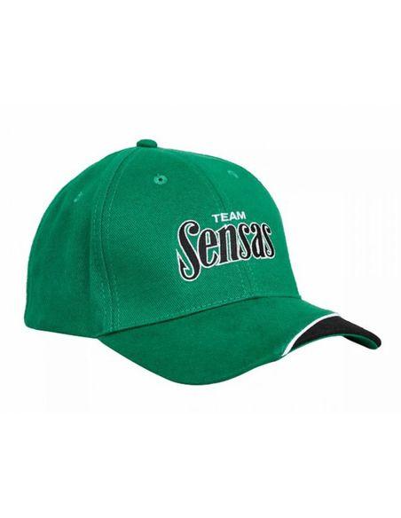Шапка Sensas - Team Cap Green - Sensas - Облекло за риболов - 1
