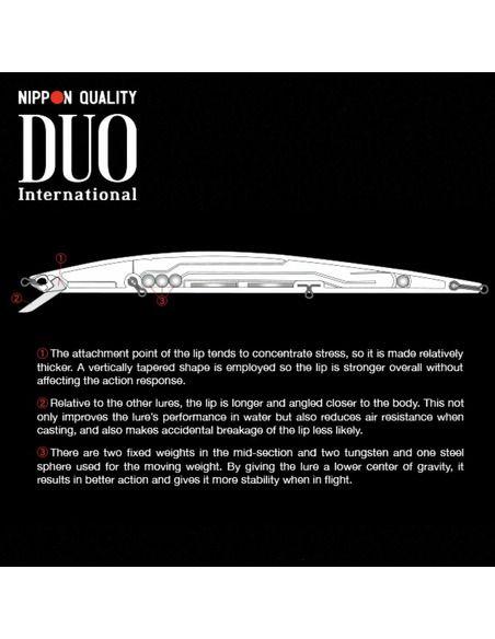 Воблер DUO - Tide Minnow Slim Flyer 175 - DUO - Воблери - 3