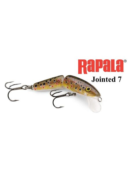Воблер Rapala - Jointed 7 - Rapala - Воблери - 1