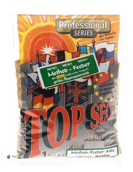 Захранка Top Secret - Method Feeder 1 КГ. - Top Secret - Захранки за шарански риболов - 1