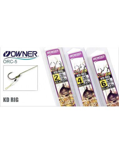 Монтаж Owner - KD Rig - Owner - Готови монтажи за шарански риболов - 1