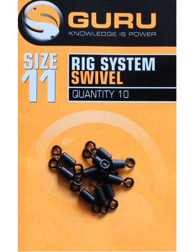 Вирбели Guru - Rig System Swivel - Guru - Вирбели и карабини за фидер - 1