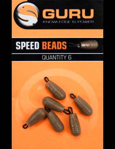 Комплект мъниста с бърза връзка Guru Speed Bead - Guru - Други аксесоари за фидер - 1