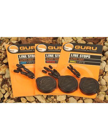 Стопери за линия Guru Super Tight Line Stops - Guru - Други аксесоари за риболов на плувка - 1