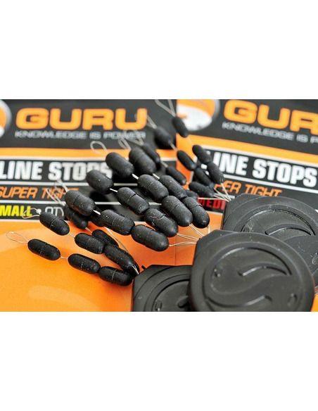 Стопери за линия Guru Super Tight Line Stops - Guru - Други аксесоари за риболов на плувка - 2