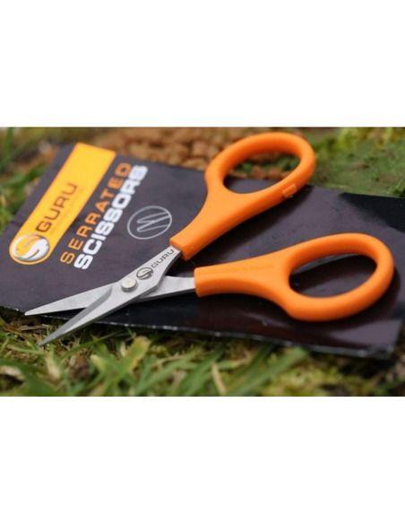 Ножица Guru GRS Serrated Scissors - Guru - Други аксесоари за морски риболов - 1