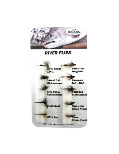 Мухи комплект - River Fly - Dragon Tackle - Други примамки - 1