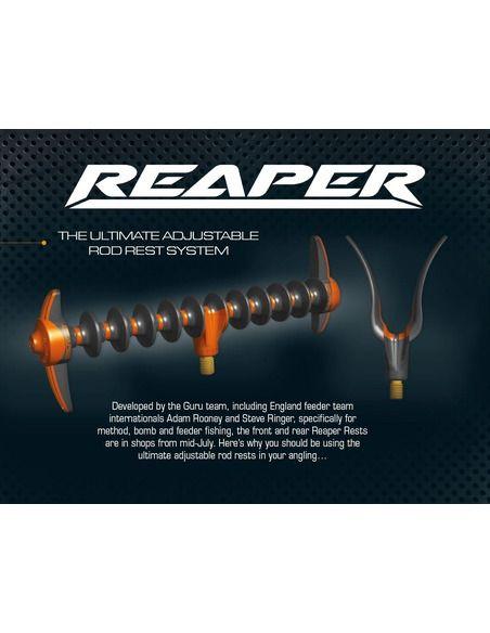 Заден четал Guru Reaper Rear Rod Rest - Guru - Стойки, колчета и глави за шарански риболов - 4