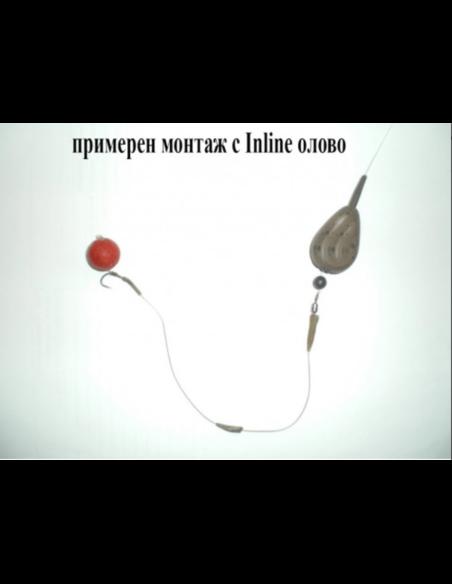 Олово инлайн плоско - Дани Монт - Тежести за морски риболов - 2