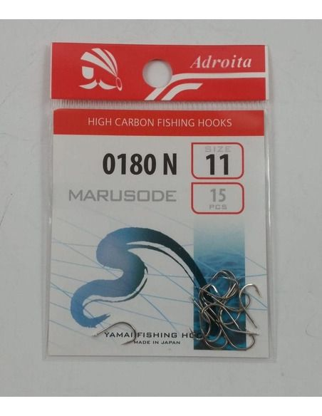 Куки Adroita - 0180N - Adroita - Единични куки за фидер - 1