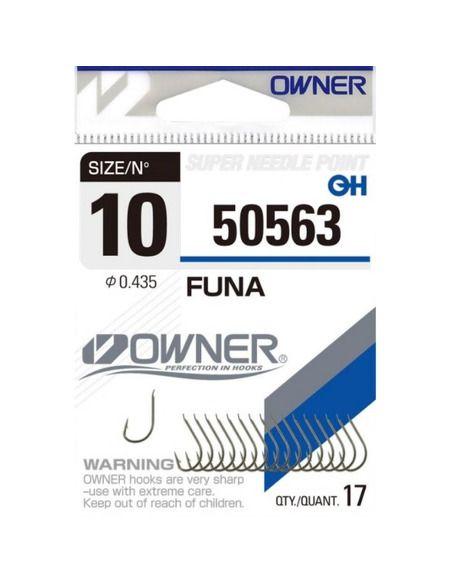 Куки Owner - Funa 50563 - Owner - Единични куки за фидер - 1