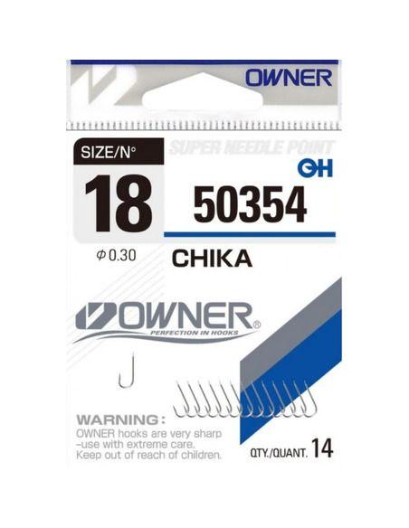 Куки Owner - Chika 50354 - Owner - Единични куки за фидер - 1