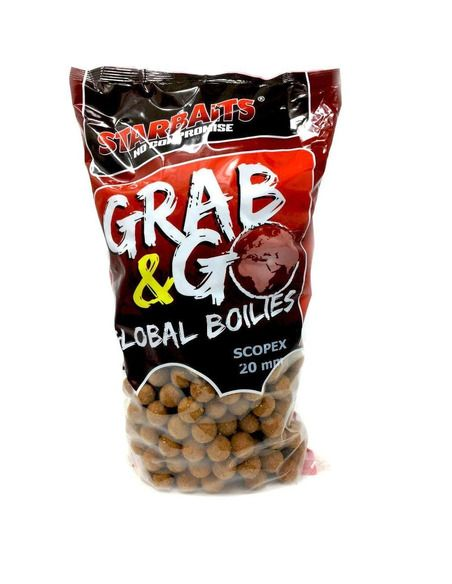 Топчета Starbait - Global Boilies Скопекс - Starbaits - Протеинови топчета за шарански риболов - 1