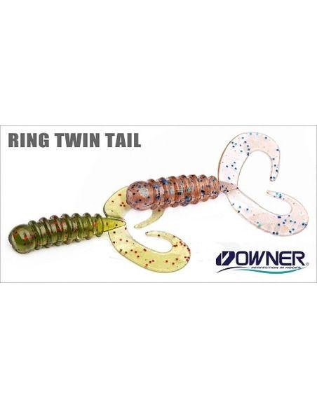 Туистери Owner - Ring Twin Tail 38 - Owner - Силиконови примамки за морски риболов - 3